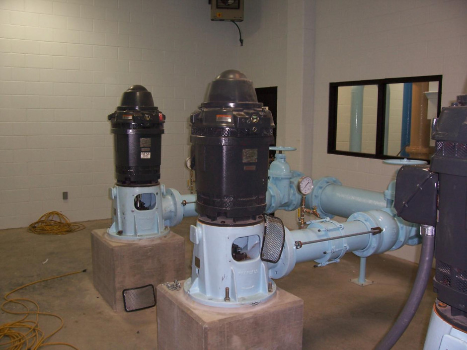 High Service Pumps located in Spencer Indiana